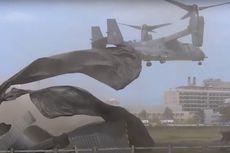 Video Viral Helikopter AU Amerika Hancurkan Landasan RS Inggris Saat Lepas Landas