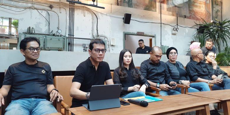 Jajaran pejabat Kementerian Pariwisata Indonesia di M Block, Kamis (5/11/2019).