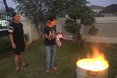 Uya Kuya Sempat Marah Besar, Ternyata Sepatu yang Dibakar Putranya Palsu
