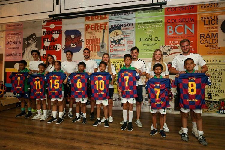 Turnamen ini dimulai dengan sesi pelatihan bersama Barça Academy yang mengajarkan tentang metodologi, filosofi, serta nilai-nilai permainan yang dianut oleh FC Barcelona.