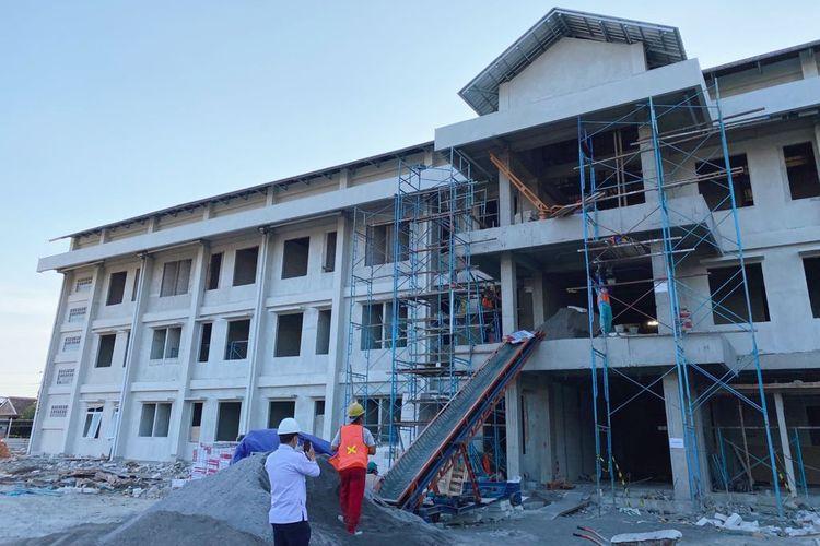 Dirjen Perumahan Kementerian PUPR sedang membangun rusun MBR Yogyakarta
