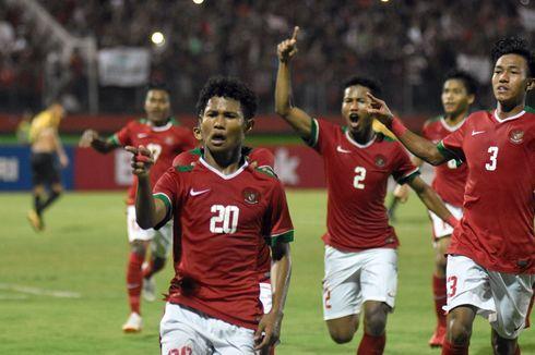 Babak Pertama Piala Asia U-16, Timnas Indonesia Unggul atas Iran