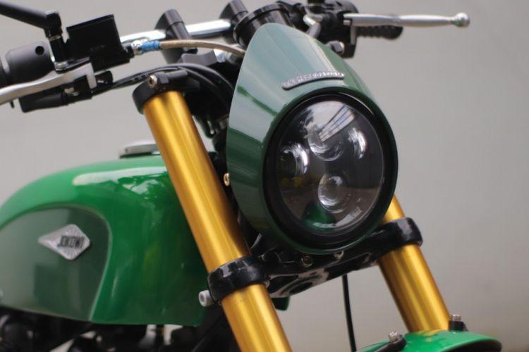 Sistem Kelistrikan Lampu Depan Sepeda Motor
