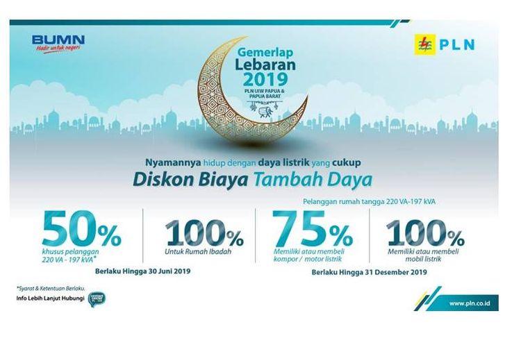 PT PLN (Persero) mengadakan diskon 50 persen untuk biaya pemasangan (BP) untuk pelanggan tegangan rendah.