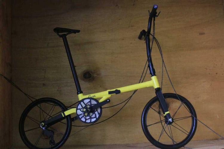Miniatur sepeda buatan Aiscreative_miniaturbicyle.