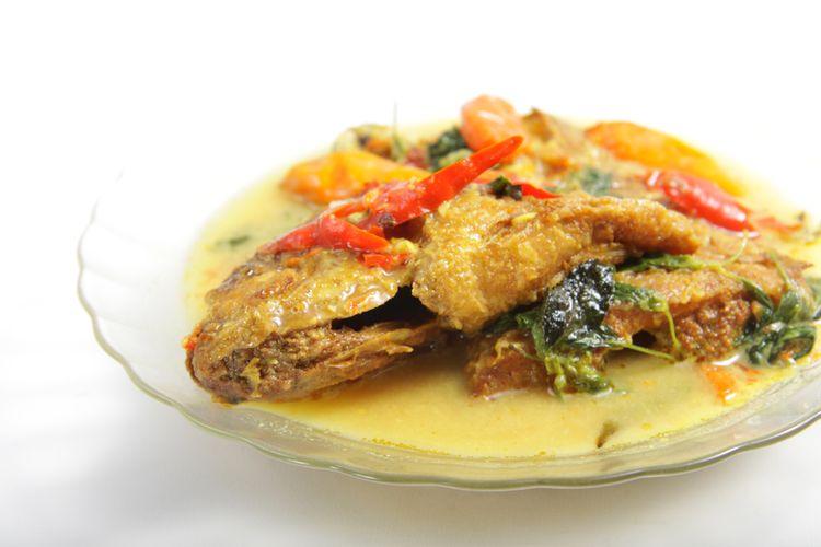 Ilustrasi mangut ikan.