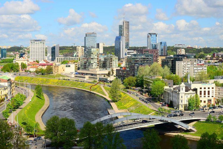 Ibu kota Lithuania, Vilnius.