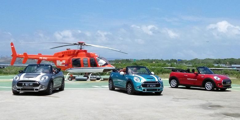 Clubman dan Cooper Cabriolet siap menjelajah Pulau Dewata dengan jarak tempuh 300 km.