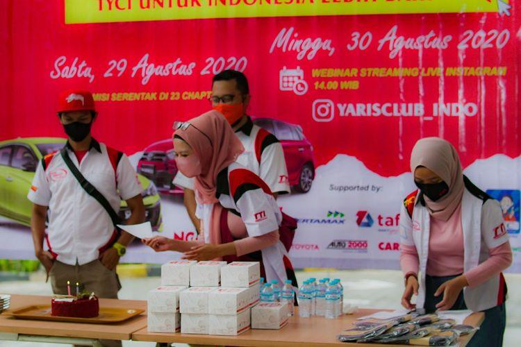 Toyota Yaris Club Indonesia (TYCI) Rayakan Anniversary Ke 14