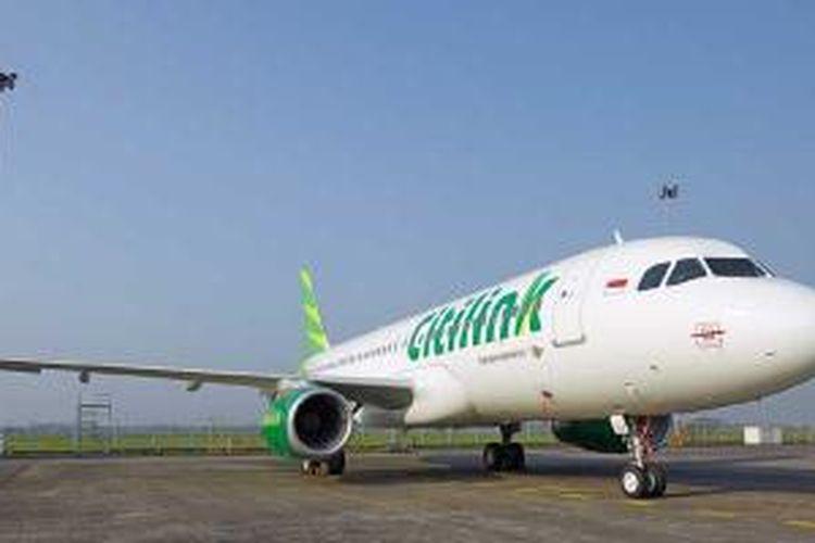 Pesawat A320 Citilink.
