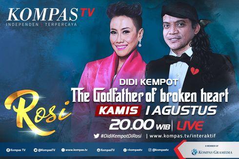 Link Live Streaming Didi Kempot di ROSI Kompas TV, Dimulai Pukul 20.00