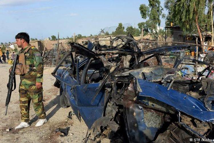 Tentara Afghanistan makin ketat berjaga, seiring meningkatnya konflik dengan Taliban di negara itu.