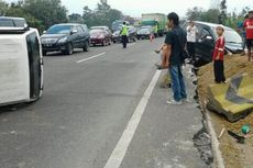 16 Kendaraan Alami Kecelakaan di Jakarta dan Sekitarnya
