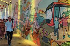 JAKBERFEST 2019, Seni Berpadu di Terowongan Kendal yang Instagramable