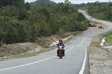 Strategis, Jalan Paralel Perbatasan Indonesia-Malaysia di Kalbar Dibangun Bertahap