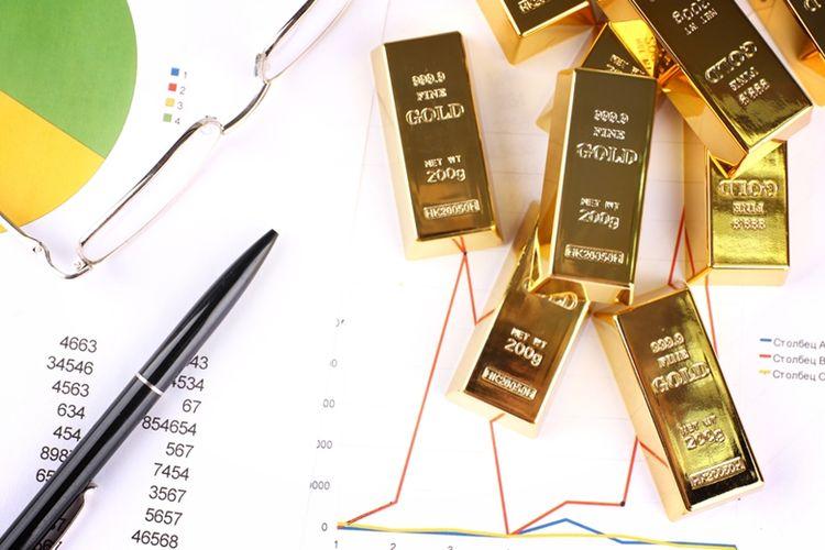 Ilustrasi investasi emas di tengah pandemi. (DOK. SHUTTERSTOCK)