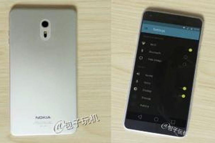 Nokia C1 bentuk sebenarnya