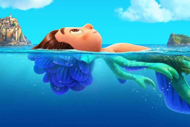 Sinopsis Luca Film Animasi Pixar Terbaru Tentang Monster Laut