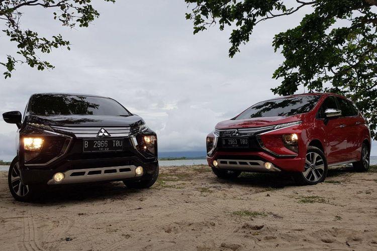 Menjalani tes tak resmi Mitsubishi Xpander, Jakarta-Lampung, Minggu (19/11/2017).