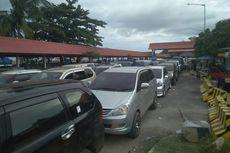 Antrean Kendaraan di Pelabuhan Tanjung Kalian Capai 3 Kilometer