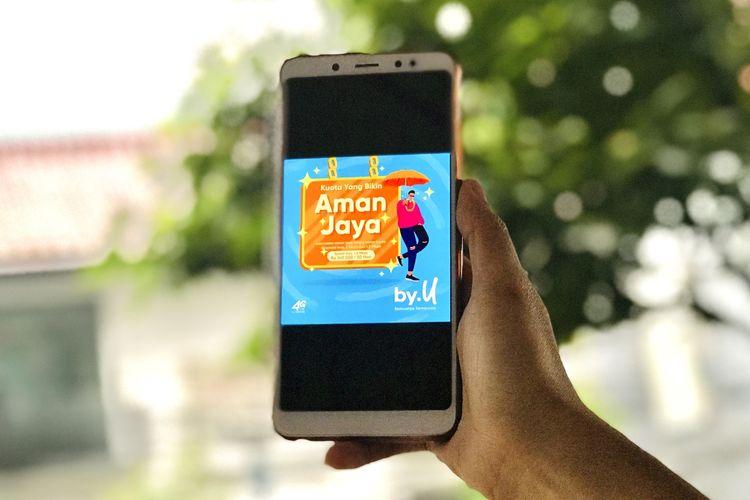 By.U tawarkan paket internet murah bertajuk Kuota Yang Bikin Aman Jaya