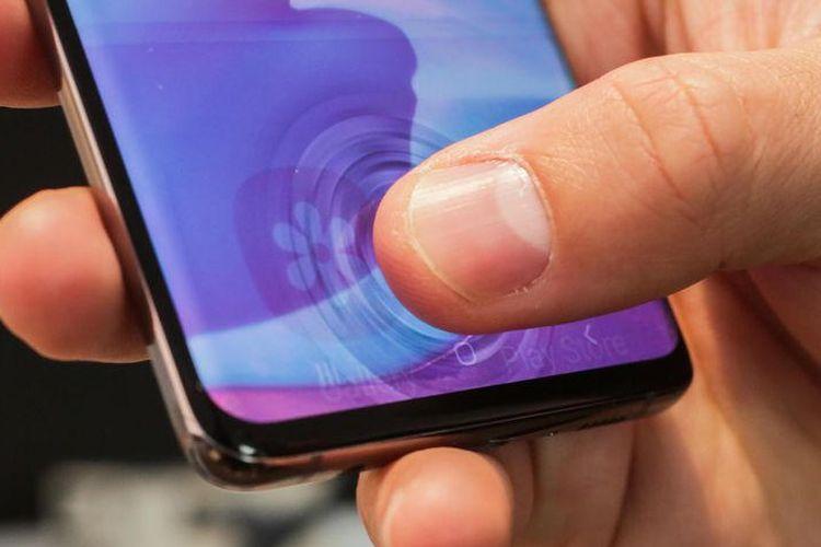 Ilustrasi Ultrasonic Fingerprint Sensor