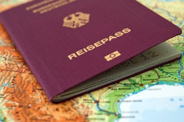 Paspor Jerman.