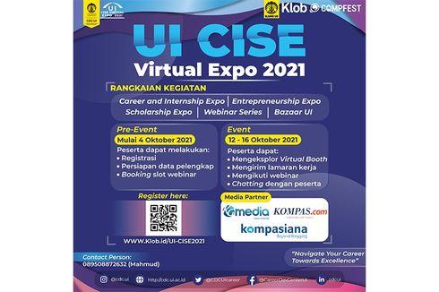 Gandeng Perusahaan dan Lembaga, Universitas Indonesia Gelar UI CSE Expo 2021