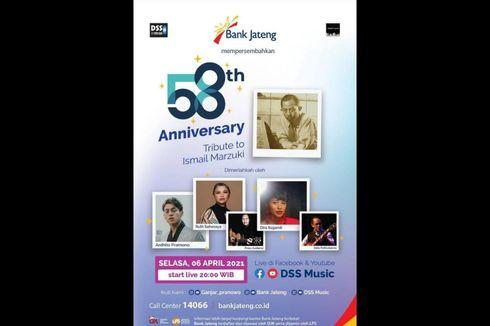 Konser 7 Ruang Tribute to Ismail Marzuki, Dimeriahkan Ardhito Pramono hingga Ruth Sahanaya