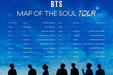 Pantau Situasi Wabah Covid-19, BTS Siap Ubah Jadwal Tur Map of the Soul