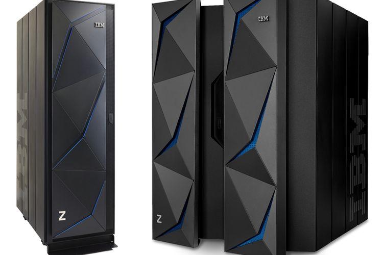 Komputer mainframe IBM z14 ZR1.
