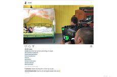 Terbaring Sakit, Aminah Cendrakasih Tetap Shooting