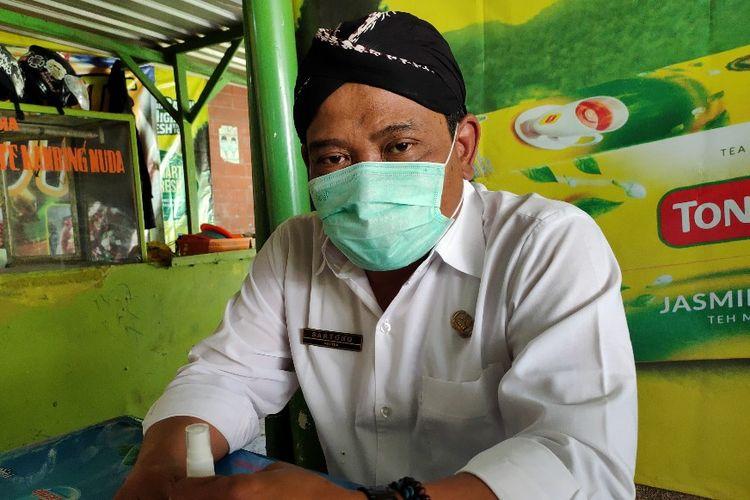Kepala Dinas Kesehatan Kabupaten Brebes dr. Sartono