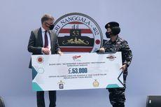 Komunitas Kapal Selam Angkatan Laut Inggris Beri Santunan Untuk Keluarga Korban KRI Nanggala-402