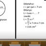 Cara Menghitung Luas Lingkaran