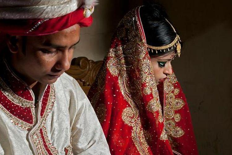 Pernikahan anak marak di Asia sejak lockdown akibat virus corona.