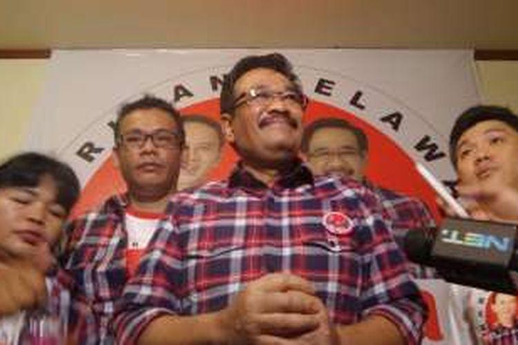 Bakal calon wakil gubernur DKI Jakarta Djarot Saoful Hidayat.