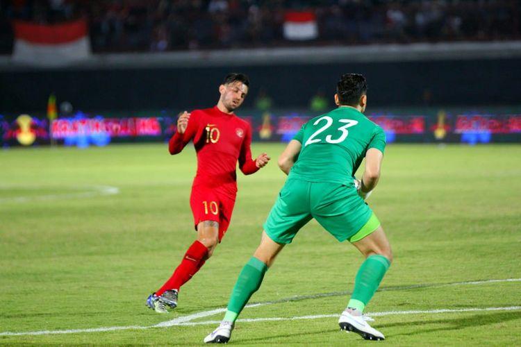 Pertandingan antara Indonesia vs Vietnam akan berlangsung di Stadion Kapten I Wayan Dipta, Giantar, Bali, Selasa (15/10/2019) malam.