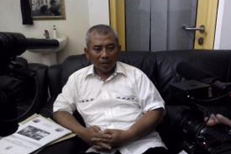 Wali Kota Bekasi Rahmat Effendi di kediamannya di Pekayon