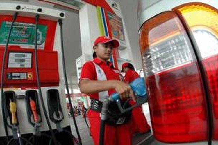 Semakin banyak orang yang menggunakan bensin non subsidi.
