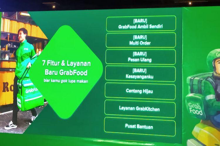Grab luncurkan tujuh fitur dan layanan GrabFood yang memudahkan masyarakat dalam memesan makanan.