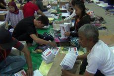 Melihat Proses Pelipatan Surat Suara di Depok yang Baru Dimulai, Hari Ini