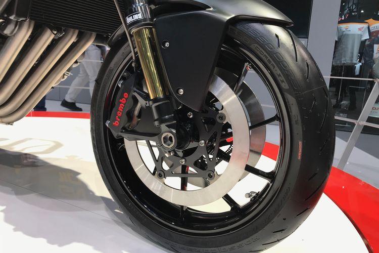 Sepeda Motor Konsep Honda CB4X dipamerkan di EICMA 2019