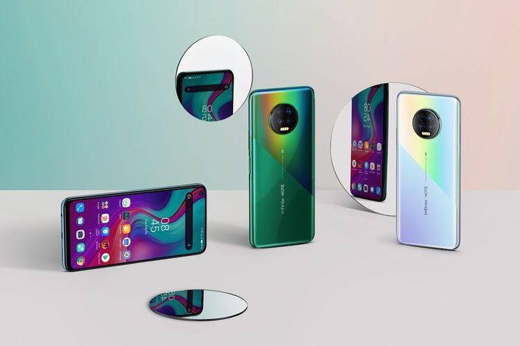 Penampakan ponsel Infinix Note 7