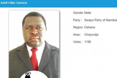 Kisah Viral Pria Bernama Adolf Hitler Uunona Menang Pilkada di Namibia