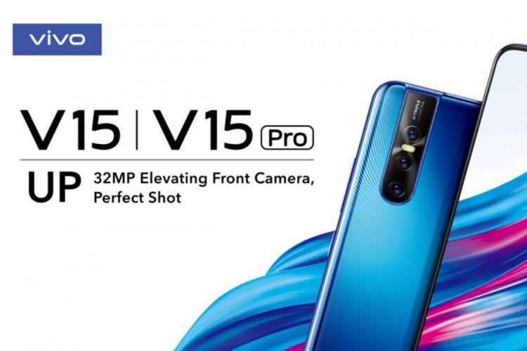 Vivo V15 Pro dengan kamera selfie 32 megapiksel.