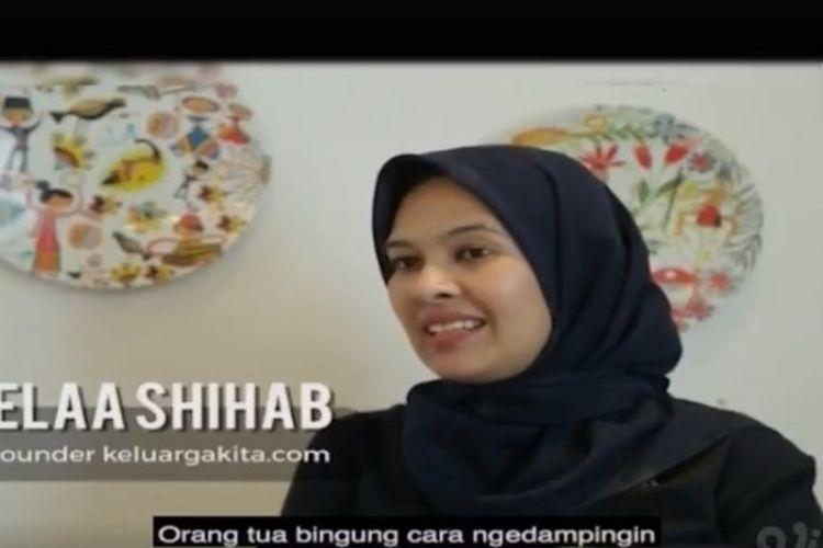 Tangkapan layar Program Belajar dari Rumah TVRI