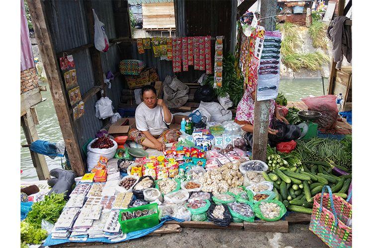 Toko sembako sebagai salah satu contoh UMKM yang dapat menerima program stimulus ekonomi