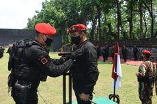 Lolos Serbuan Unit, Danjen Kopassus Terima Brevet Anti-Teror dari Sat-81 Kopassus