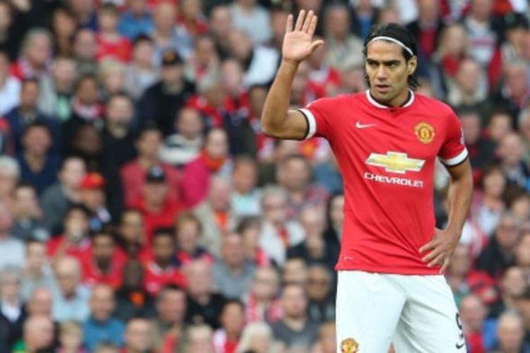 Striker Manchester United asal Kolombia, Radamel Falcao.